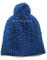 Зимняя синяя шапка с флисом Lenne - Ленне TARVO 18392A