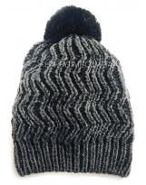 Зимняя вязаная серая шапка Lenne - Ленне RENAC 18389