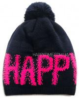 Зимняя темно-синяя теплая шапка Lenne - Ленне RICA 18389