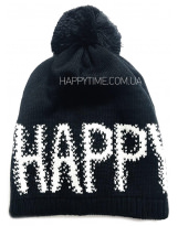 Зимняя черная теплая шапка Lenne - Ленне RICA 18389