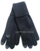 Перчатки черные зимние для сенсорных телефонов Lenne - Ленне TOUCH