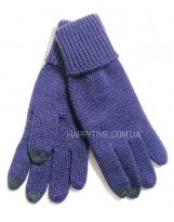 Перчатки сиреневые зимние для сенсорных телефонов Lenne - Ленне TOUCH