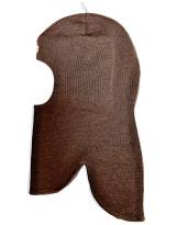 Шерстяной коричневый зимний шлем Kivat - Киват