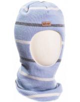 Шерстяной полосатый зимний шлем Kivat - Киват Striped