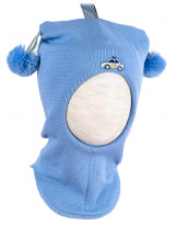 Шерстяной голубой зимний шлем Kivat - Киват