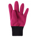 Малиновые флисовые перчатки Reima рукавицы Osk 527279/3600
