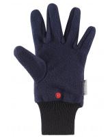 Тёмно-синие флисовые перчатки Reima рукавицы Osk 527279