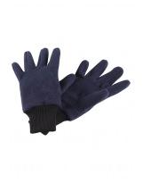 Тёмно-синие флисовые перчатки Reima рукавицы Osk 527279/6980