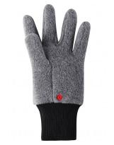 Серые флисовые перчатки Reima рукавицы Osk 527279