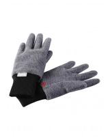Серые флисовые перчатки Reima рукавицы Osk 527279-9400