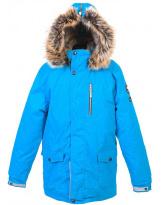 Парка голубая зимняя Lenne - Ленне куртка WOODY 18368