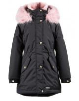 Парка зимняя черная Lenne - Ленне куртка ESTRA 18671A