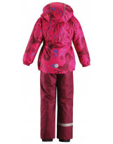 Костюм - комплект фуксия зимний куртка + полукомбинезон Lassie by Reima 723734/4691