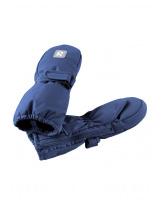 Непромокаемые темно-голубые рукавицы Reima Tassu - Рейма 517161/6790