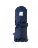 Непромокаемые темно-синие рукавицы Reima Tassu - Рейма 517161/6980