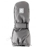 Непромокаемые серые рукавицы Reima Tassu - Рейма 517161/9370