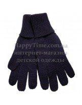 Перчатки шерстяные темно-синие зимние Lenne KIRA 18593