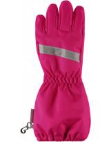 Зимние непромокаемые перчатки фуксия LASSIE - ЛАССИ BY REIMA