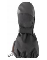 Зимние черные рукавицы краги LASSIE suprafill 727727/9990