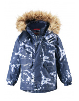 Зимняя синяя куртка пуховик парка Reima tec - Рейма Skaidi 531347