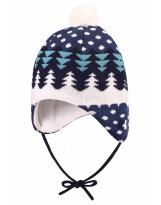Шерстяная шапка-бини зимняя с завязками Reima - Рейма Nietos 518486