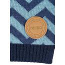 Красивый шерстяной сине-голубой зимний шарф Reima - Рейма Kola 528593