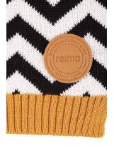 Красивый шерстяной черный зимний шарф Reima - Рейма Kola 528593