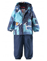 Зимний синий комплект - костюм Reimatec - Рейма Mjuk 523121