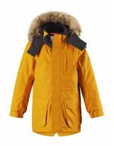 Зимняя желтая куртка парка Reima tec - Рейма Naapuri 531351