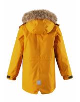 Зимняя желтая куртка парка пуховик Reima tec - Рейма Naapuri 531351/2510