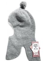 Зимний серый шлем - шапка Lenne - Ленне MACLE 18582