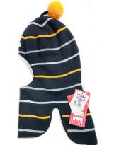 Зимний черный шлем - шапка Lenne - Ленне MINT 18580
