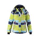 Лыжная зимняя желтая куртка пуховик Reima tec - Рейма Frost 531360B/2224