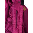 Зимняя малиновая куртка парка пуховик Reima tec Inari 531372/3690