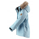 Зимняя голубая парка куртка пуховик Reima tec - Рейма Sisarus 531376/7190