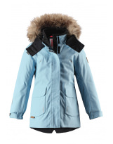 Зимняя голубая парка куртка пуховик Reima tec - Рейма Sisarus 531376