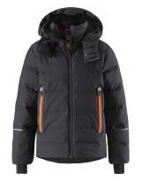Пуховик черный лыжный зимний - куртка Reima tec Wakeup 531355