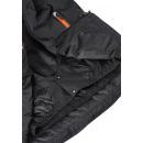 Пуховик черный лыжный зимний - куртка Reima tec Wakeup 531355/9990