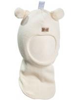 Молочный шерстяной зимний шлем Kivat - Киват