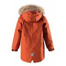 Зимняя оранжевая куртка парка пуховик Reima tec - Рейма Naapuri 531351-2880