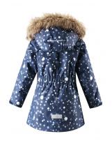 Зимняя синяя куртка парка Reima tec - Рейма Silda 521574/6988