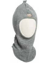 Шерстяной серый зимний шлем Kivat - Киват