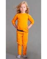 Термобелье желтое для детей Reima - Рейма Lani