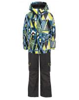 Костюм - комплект зимний куртка + полукомбинезон Gusti Boutique
