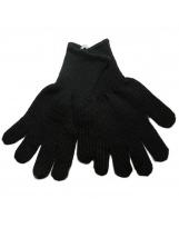 Шерстяные черные зимние перчатки KIVAT 155/70