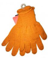 Шерстяные оранжевые зимние перчатки KIVAT 155/orange
