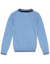 Джемпер поло школьный сине-голубой Flash/Флеш F18M10Sh-630/8