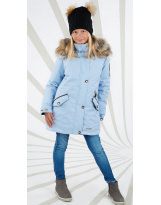 Парка зимняя голубая Lenne - Ленне куртка Joyla 18362