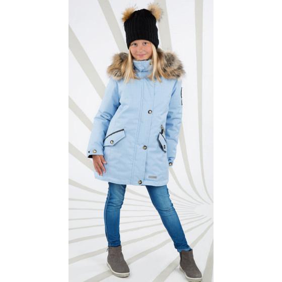Парка зимняя голубая Lenne - Ленне куртка Joyla 18362/4120