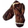 Зимние коричневые рукавицы краги Lenne Active 18175/814